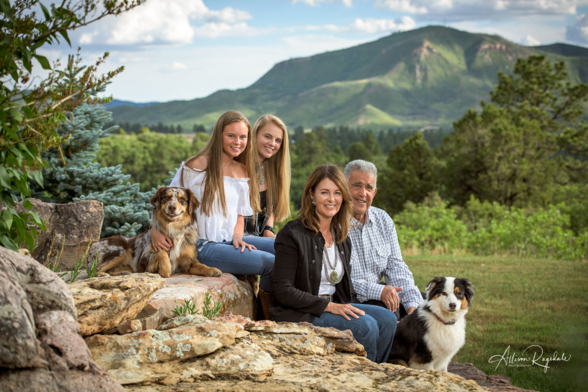 Allison Ragsdale Photography family portraits in Durango Colorado