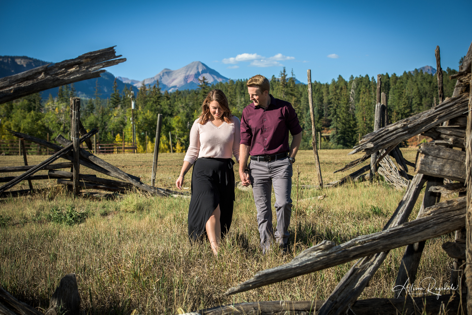 Durango CO Engagement Portraits