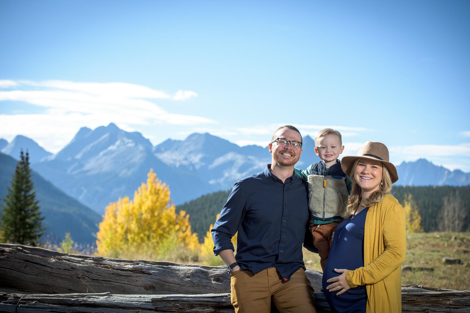 professional fall family portraits in Durango Colorado