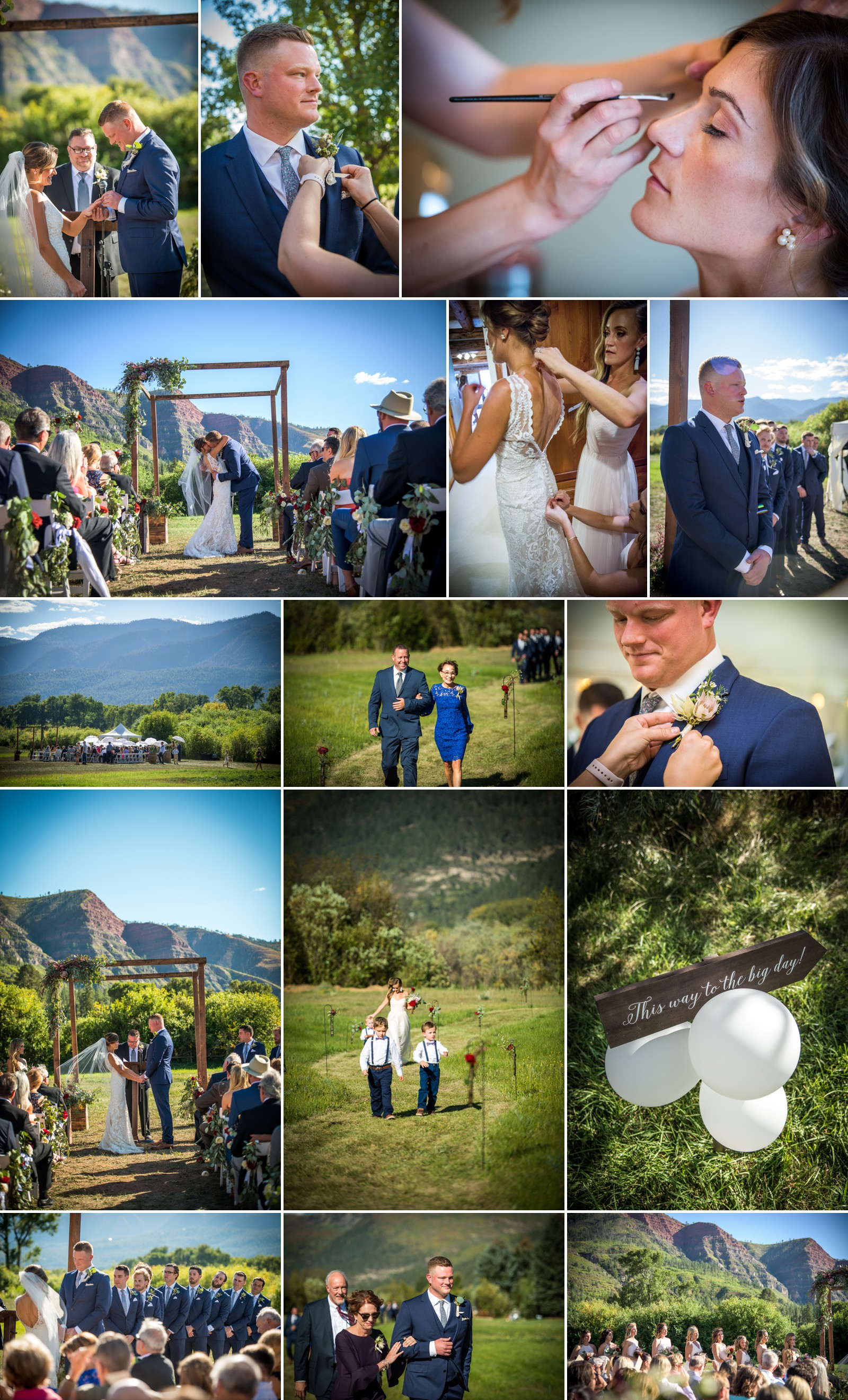 Durango Colorado Summer Wedding Season
