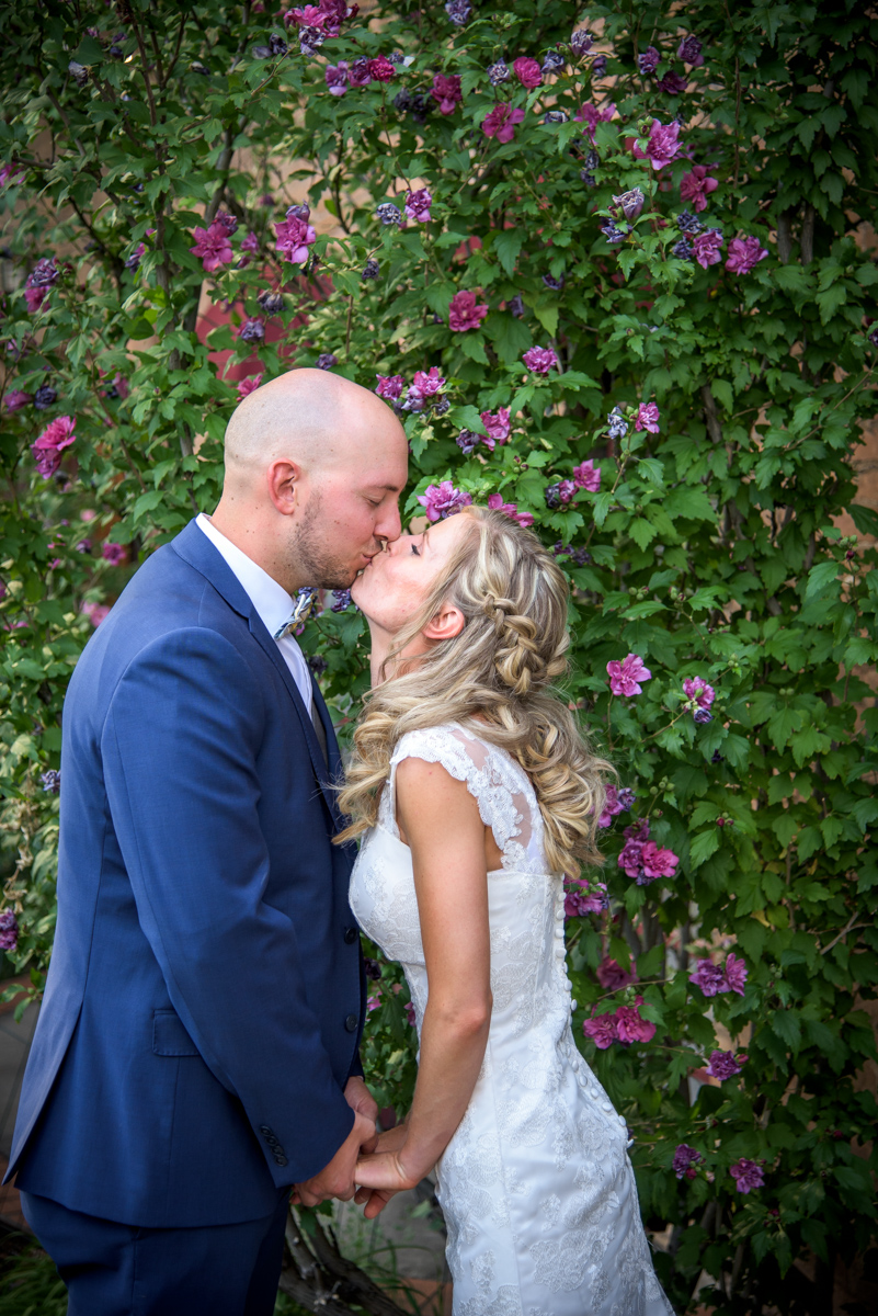 Becky & Ryan's Rochester Secret Garden Wedding in Durango Colorado