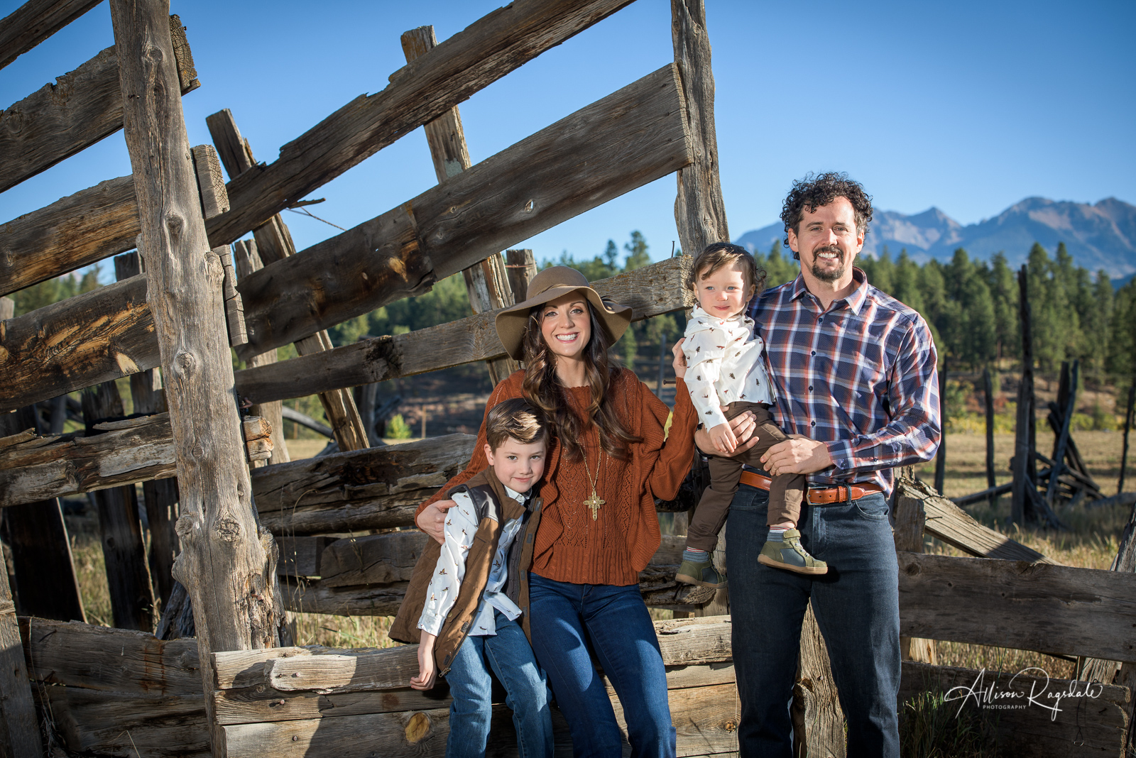 family portraits in Durango Colorado