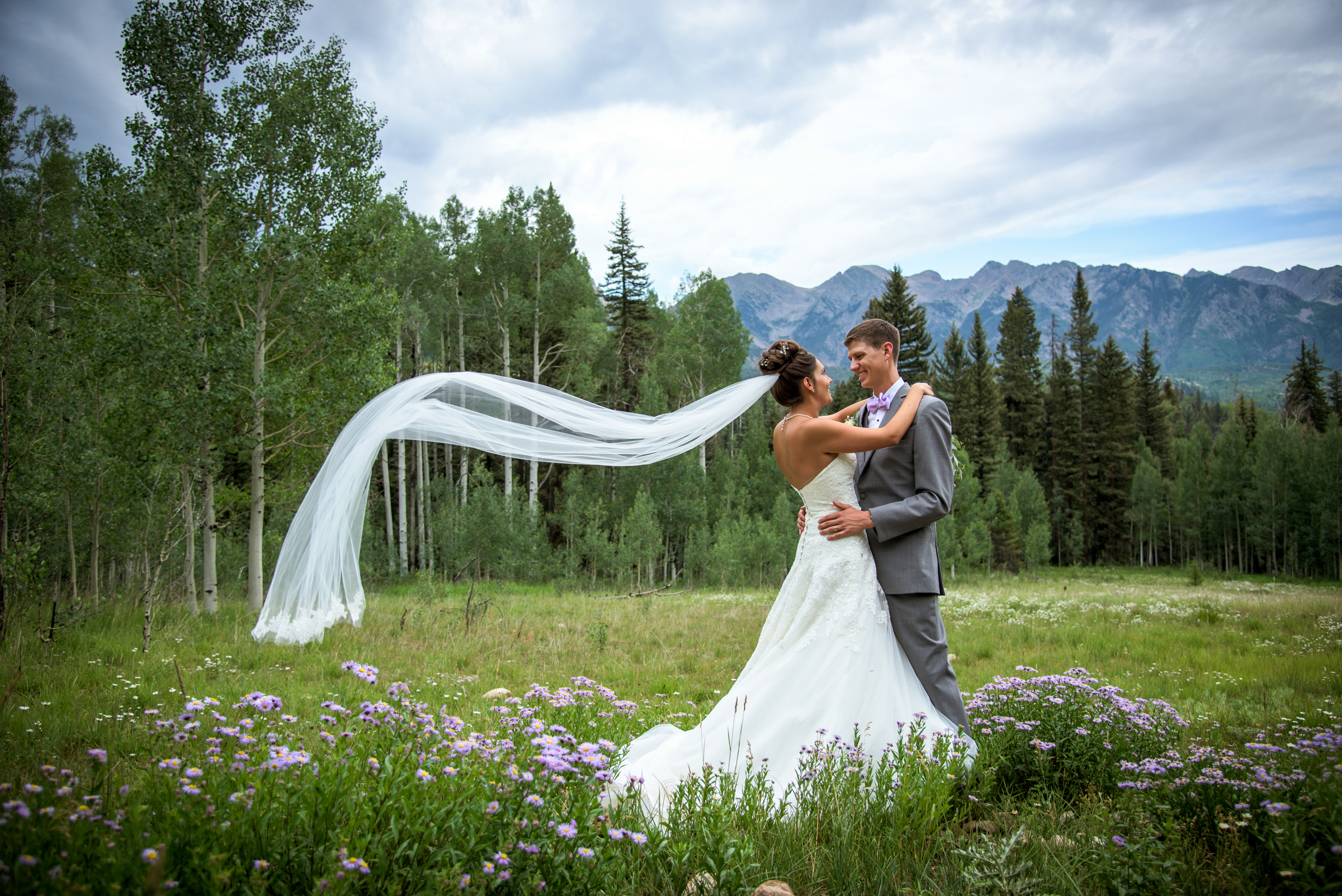Morgan and Kelly's Cascade Wedding in Durango Colorado