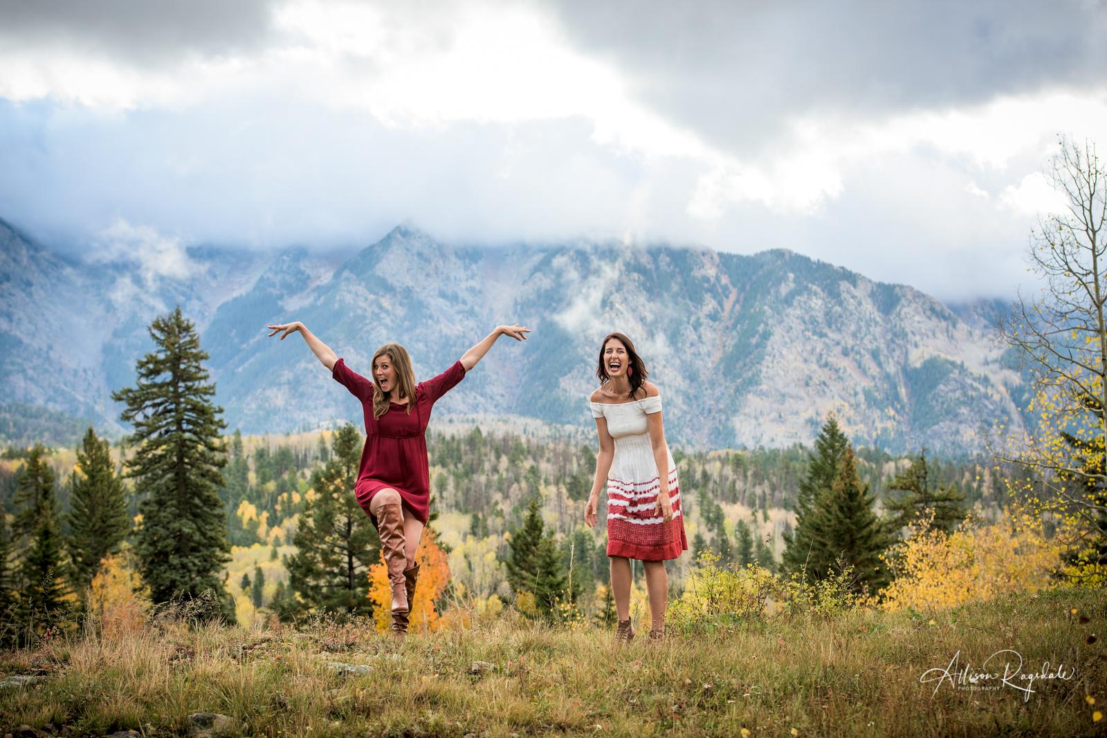 professional friend business headshots in Durango Colorado