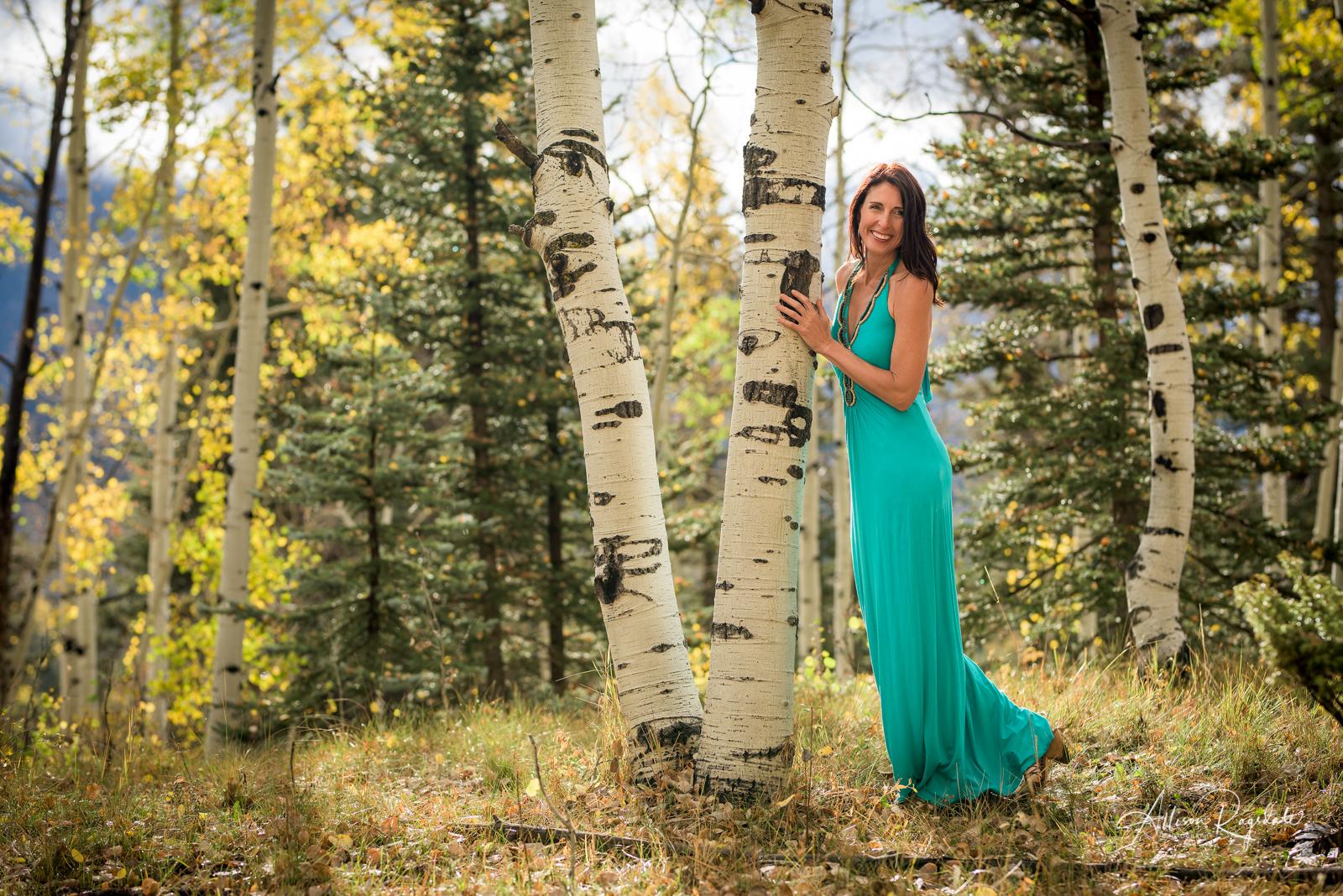 outdoor headshots in Durango Colorado