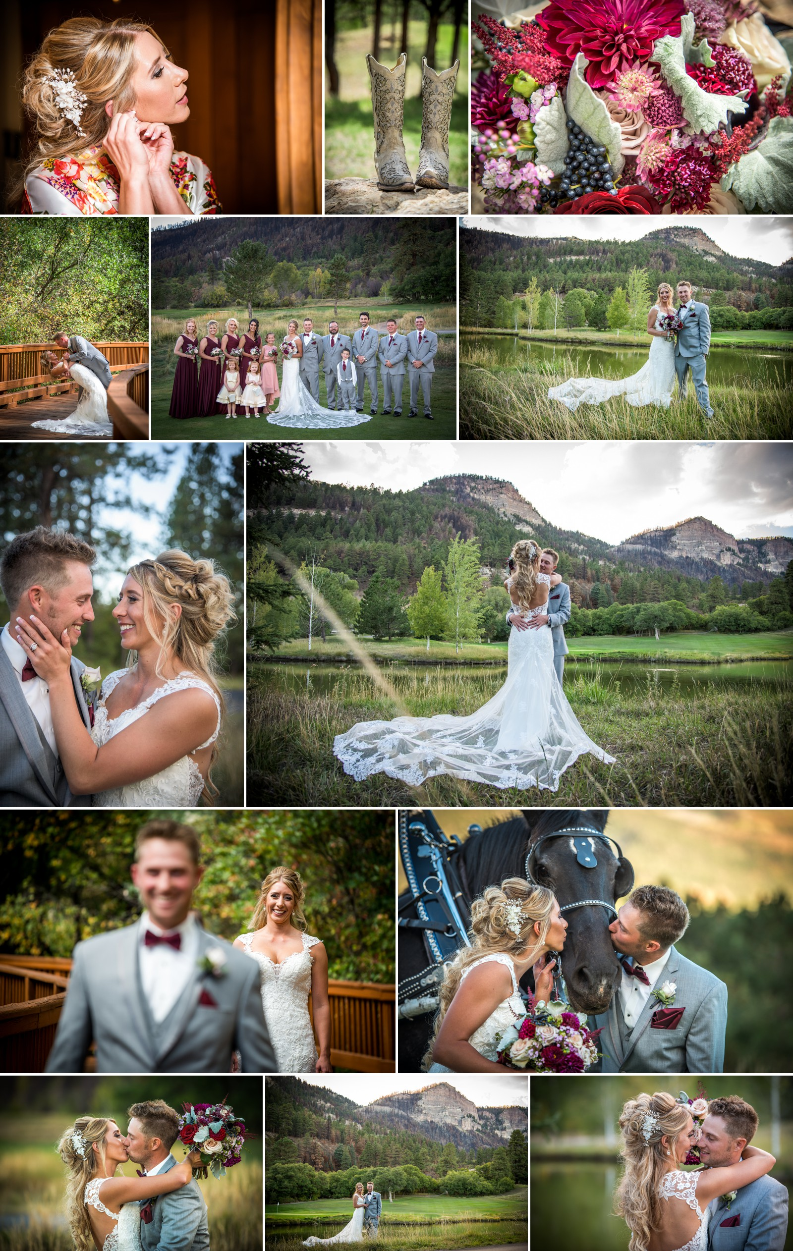 Durango Wedding Portrait Photographer