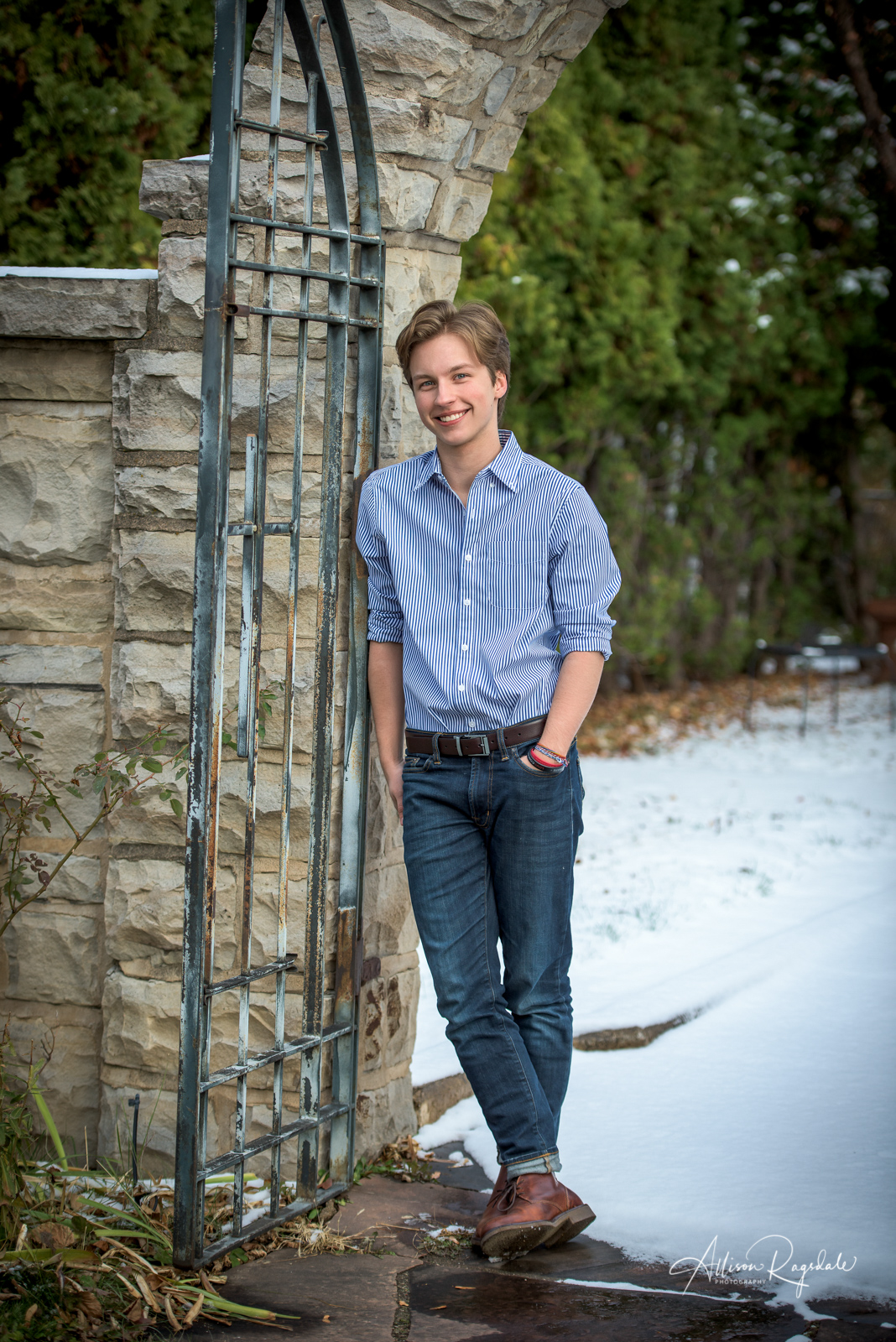 outdoor senior portraits in Durango Colorado