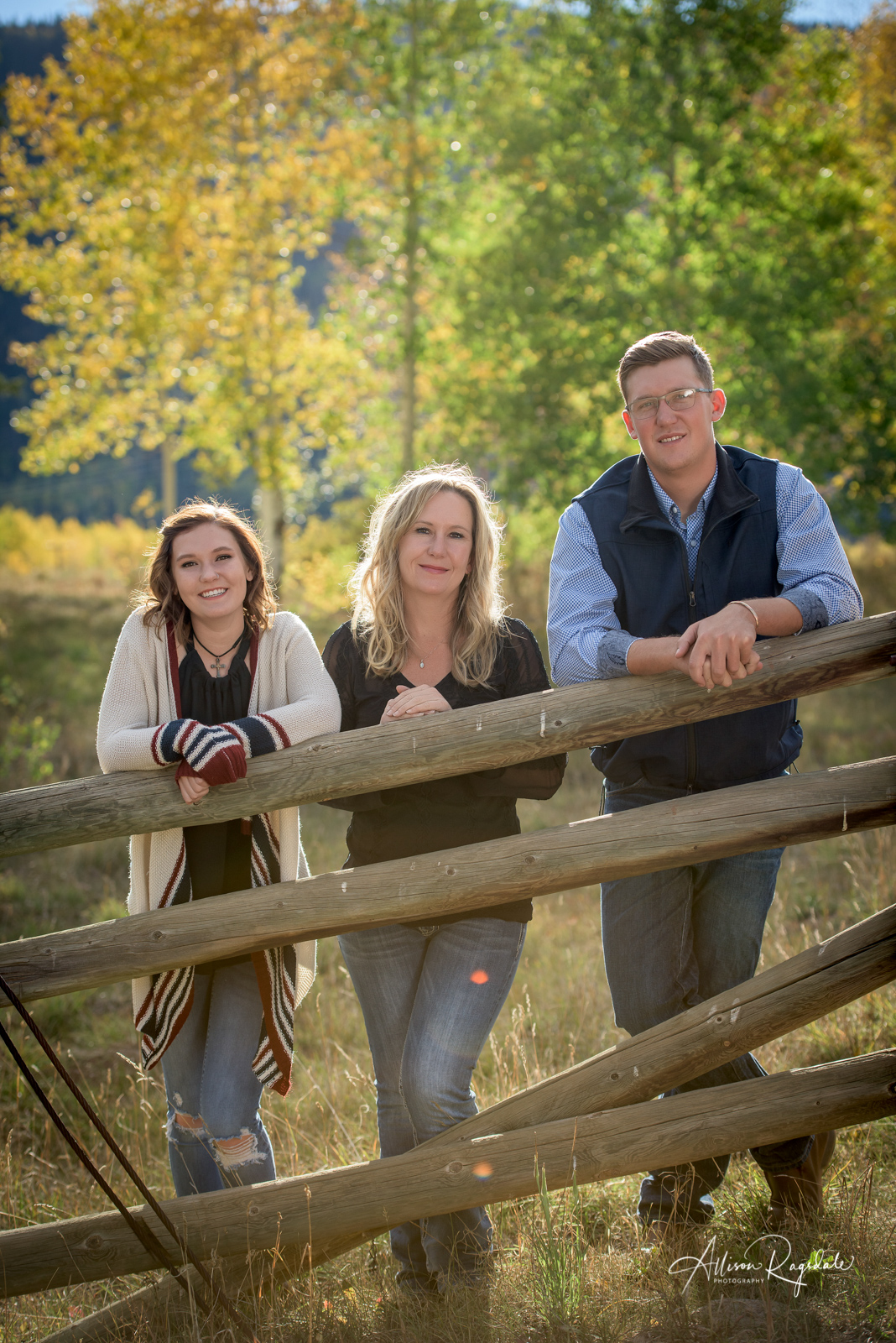 fall family portraits in Durango Colorado