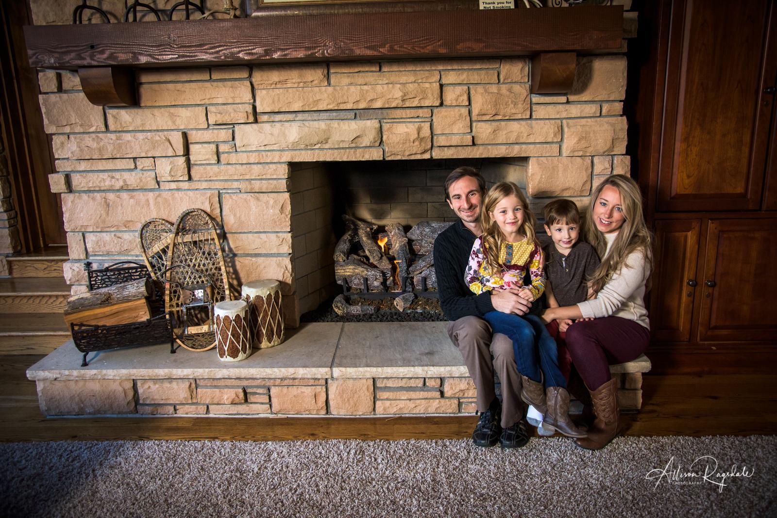 rustic family portraits in Durango Colorado
