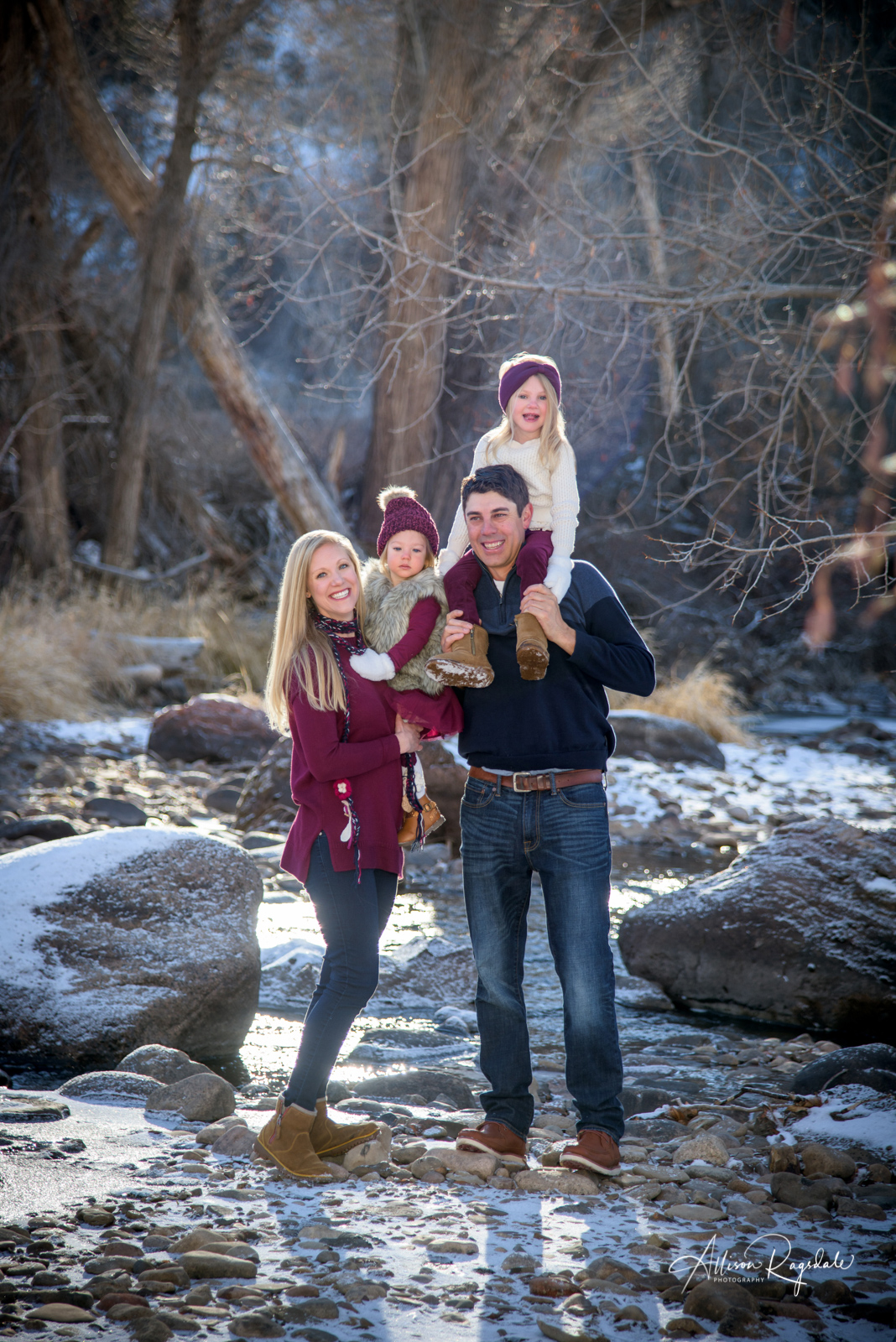 Winter Family Portraits Durango