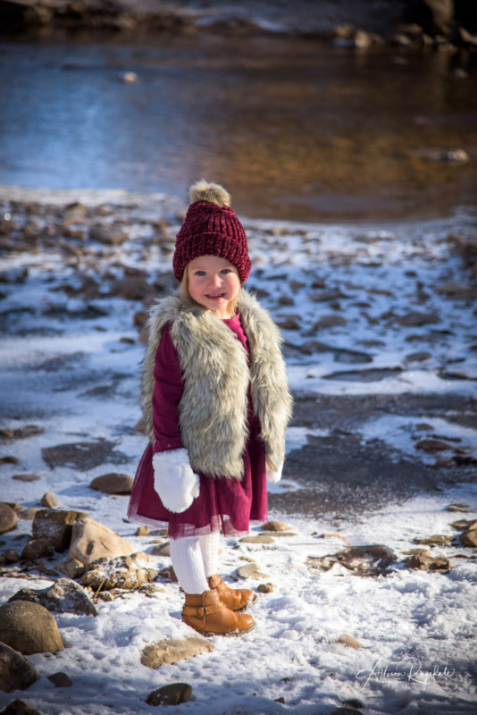 Winter Family Portraits by Allison Ragsdale Photography