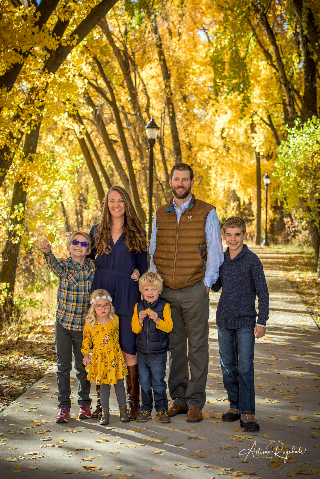 The Cheatham Family's Fall Portraits | Durango Colorado