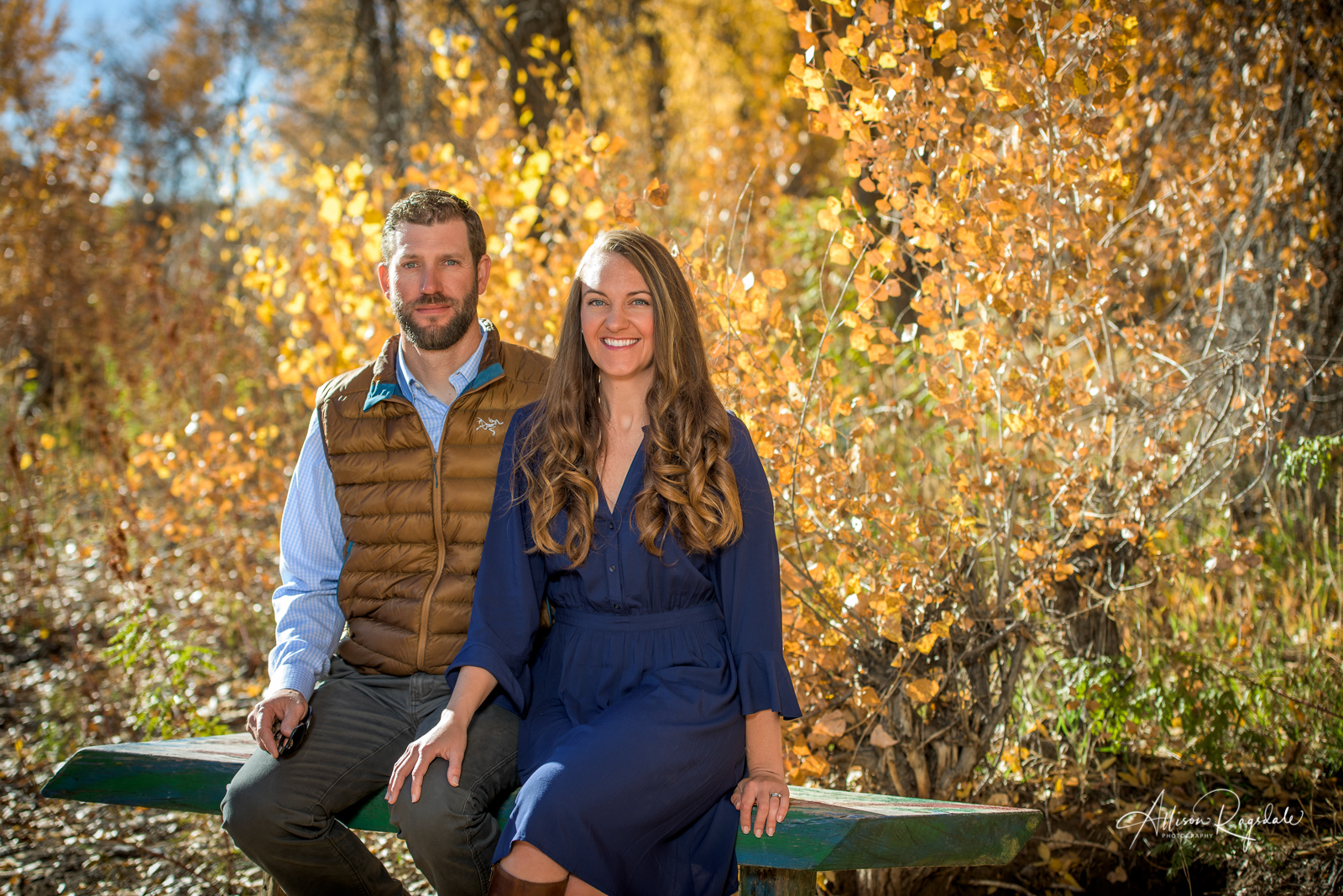 The Cheatham Family's Fall Portraits | Durango Colorado Photographed by Allison Ragsdale Photography. Durango Photographer