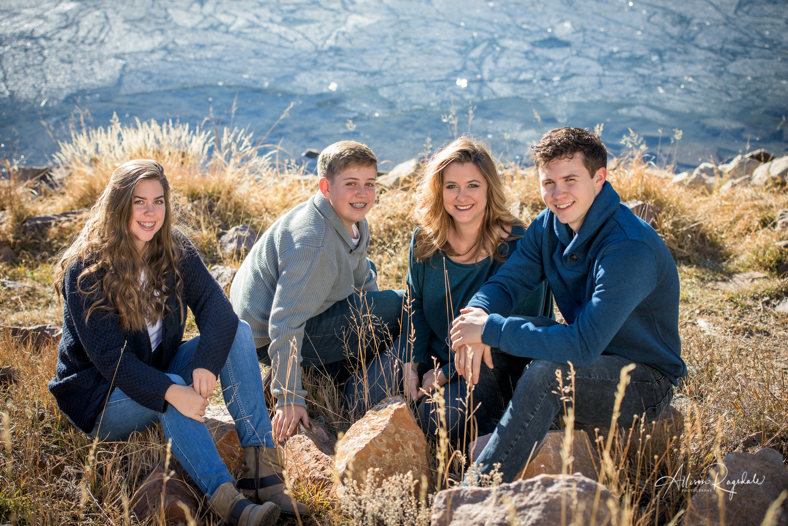 Family outdoor portraits in Durango Colorado