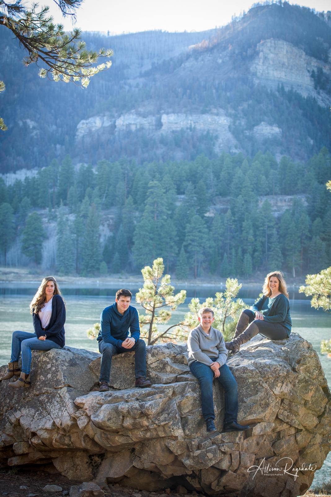 stunning family portraits in Durango Colorado
