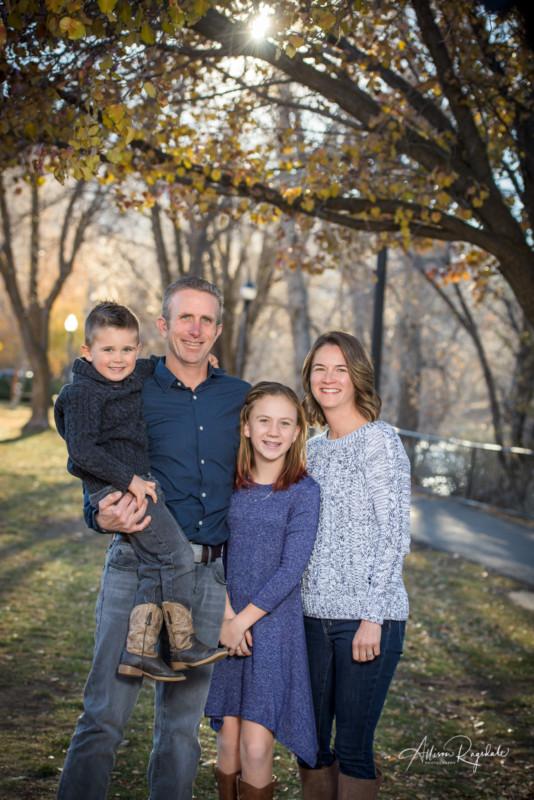 fall family portraits Durango Colorado