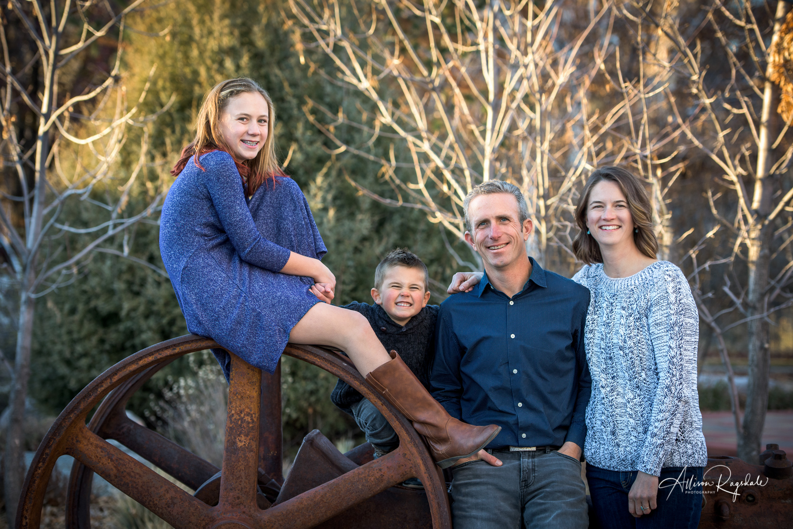 cute family portraits Durango Colorado