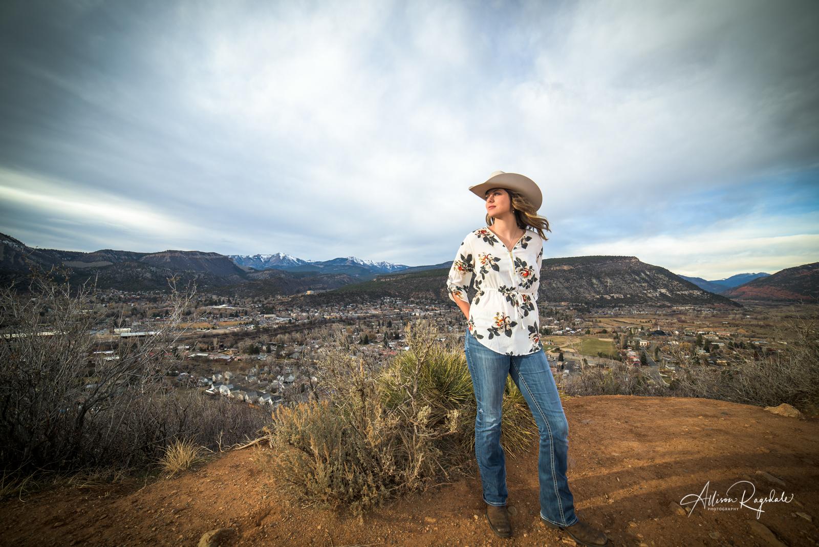 Baylee Beal's Senior Portraits | Durango Colorado
