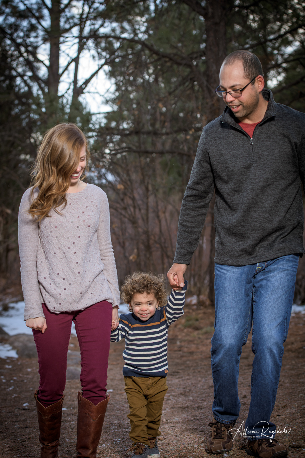 adorable family portraits in Durango Colorado
