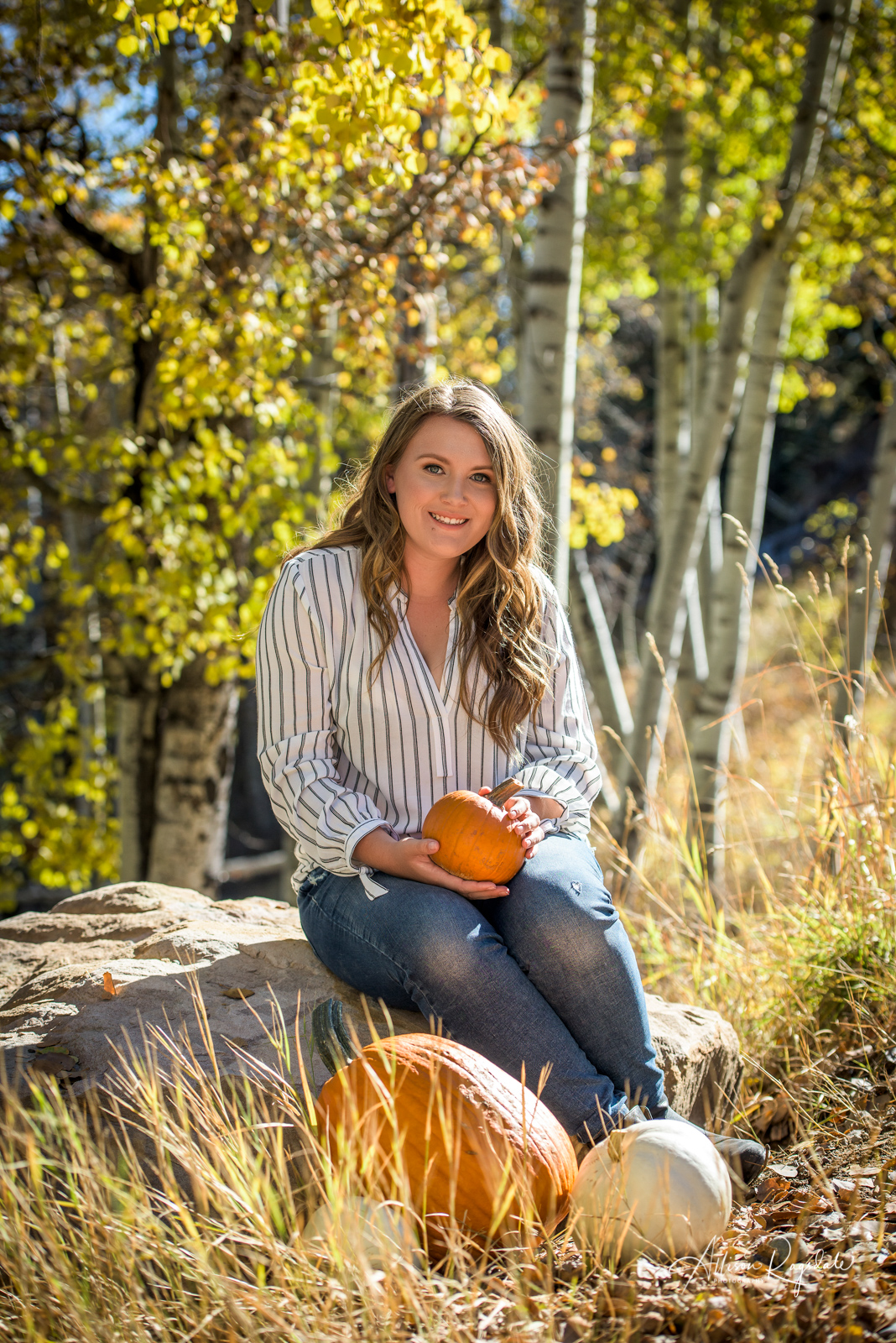 Phipps Fall Family Pictures | Durango Colorado Photographed by Durango Photographer Allison Ragsdale Photography. Fall Color Family Portraits