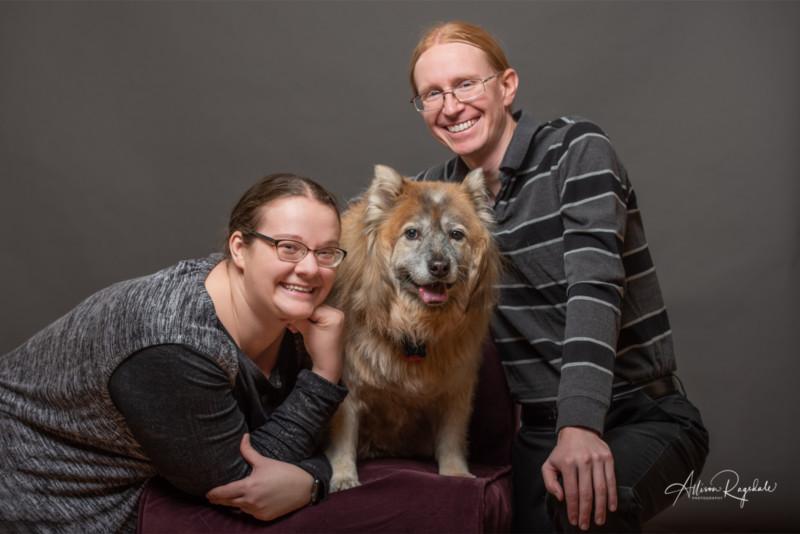 Durango Colorado Photographed with their dog in Durango Colorado By Allison Ragsdale Photography