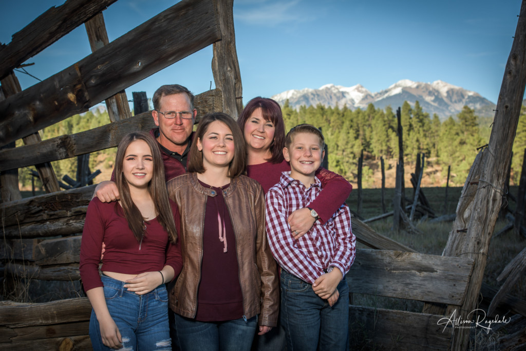 Haleigh DeLuca's Durango Colorado Senior Portraits And Family Pictures