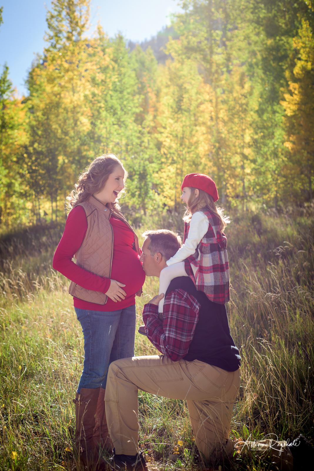 family and maternity photo ideas