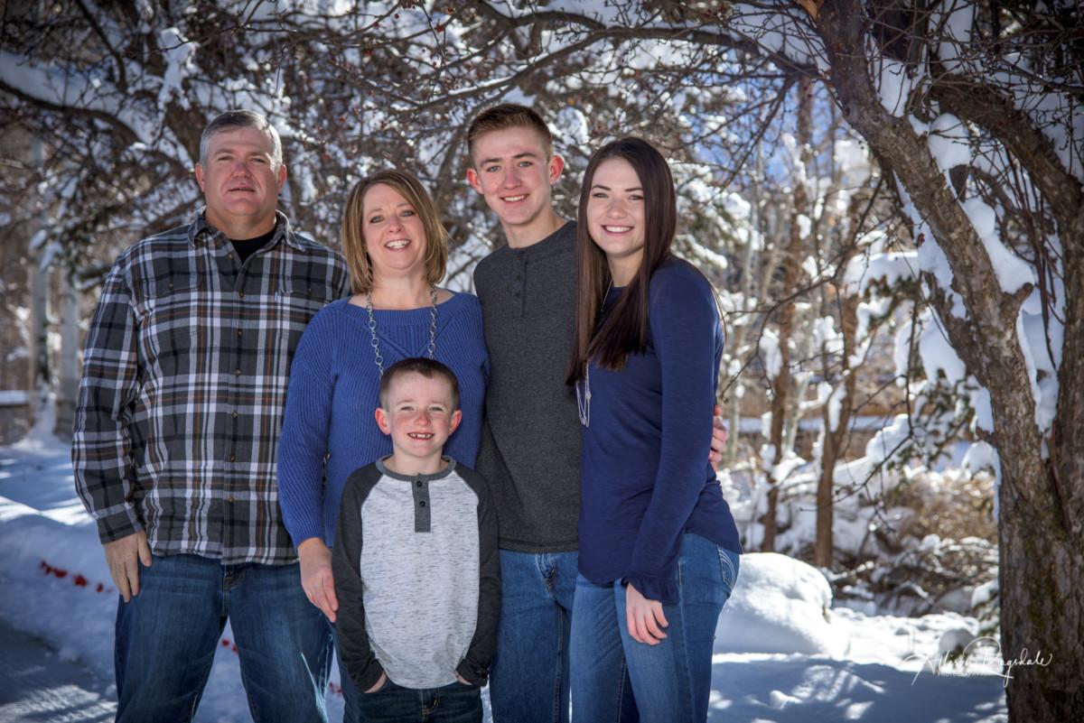 Family Pictures in Durango