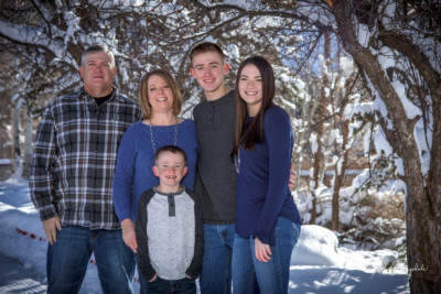 Family Pictures in Durango