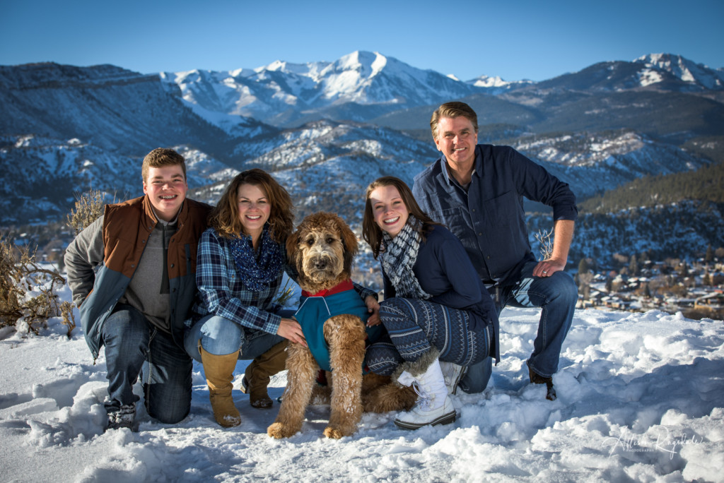 Durango Winter Family Portrait