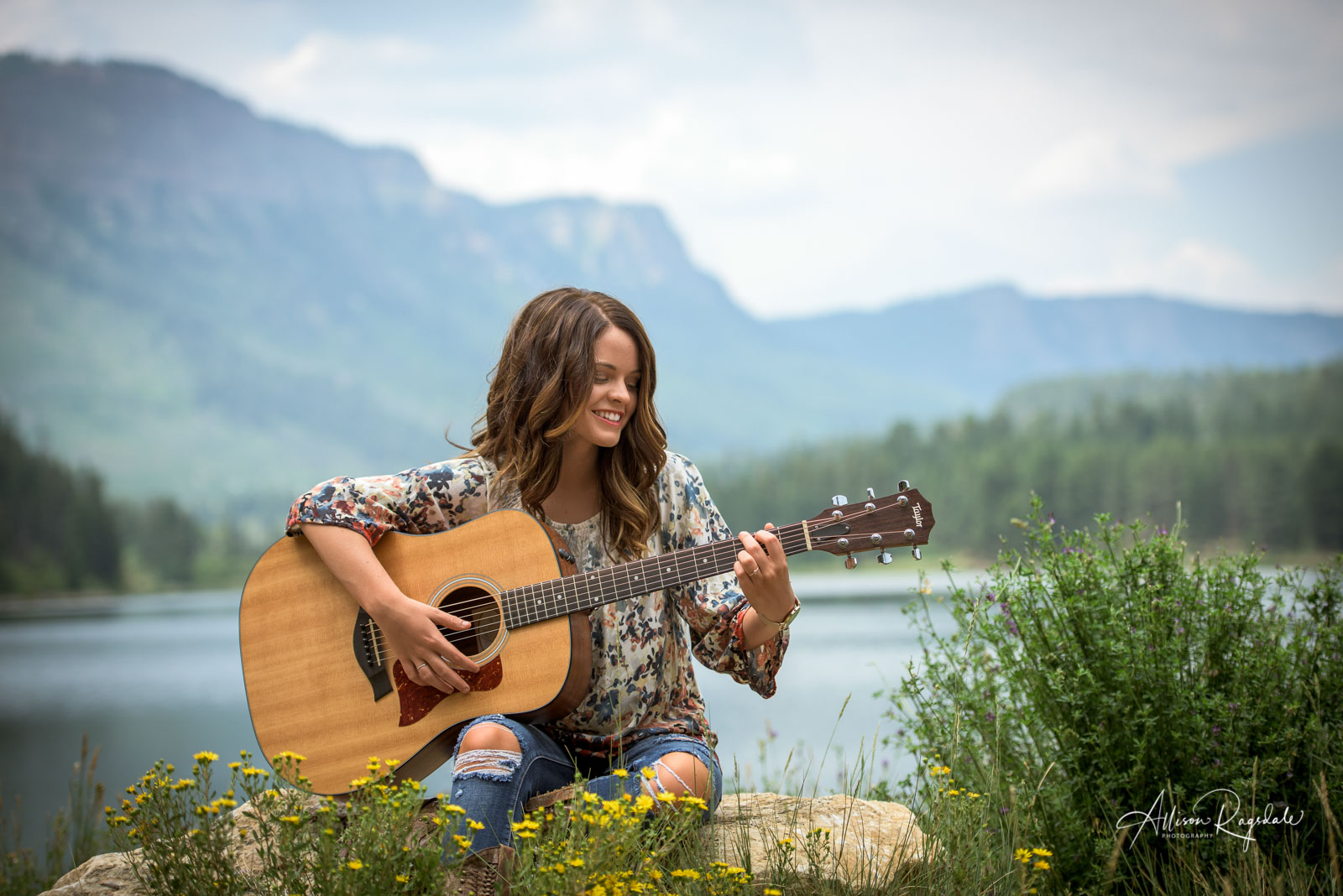 Alli Spurlock Senior Portraits | Durango Colorado