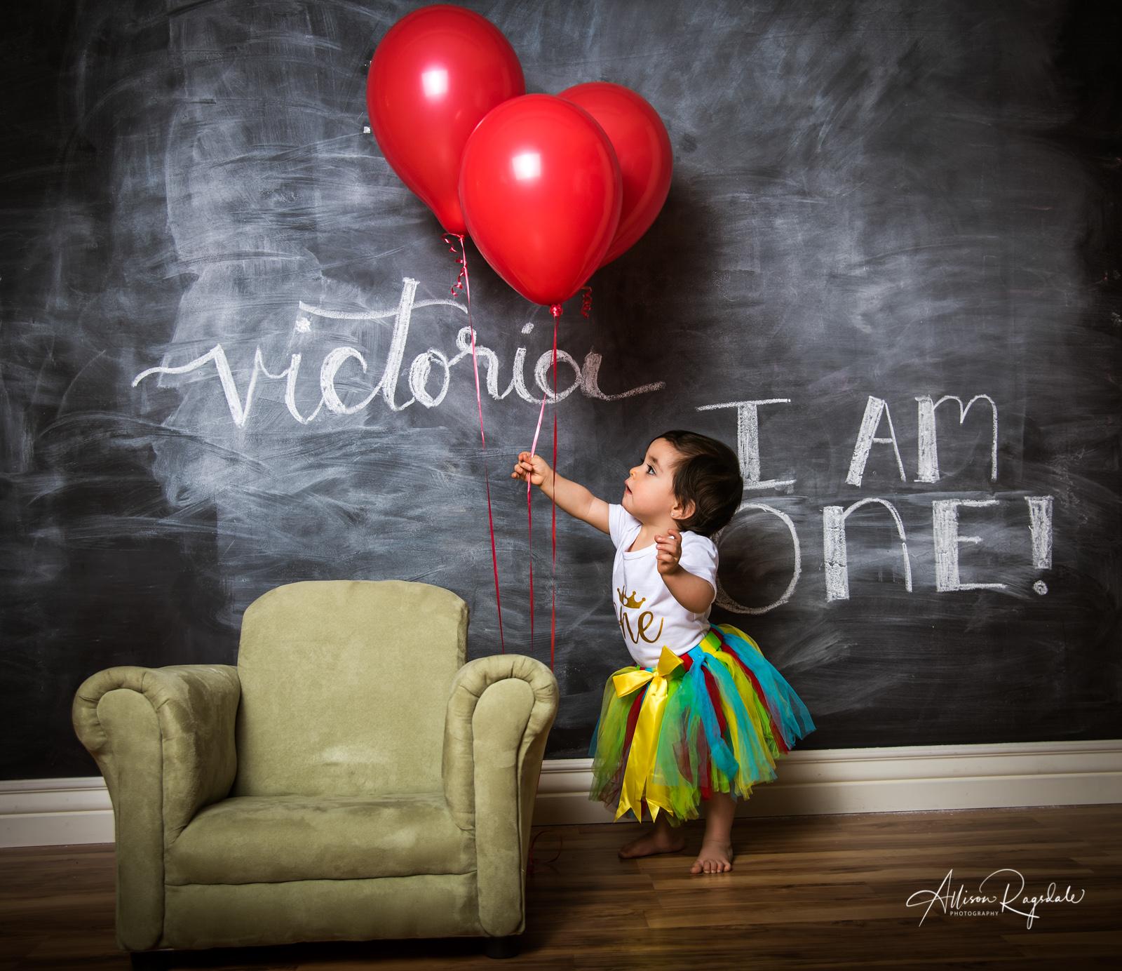 Baby Victoria's Cake Smash Portraits | Durango Colorado