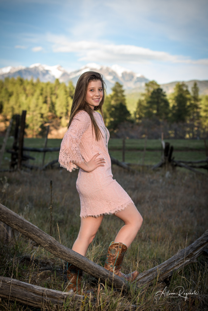 Senior Pictures In Durango Colorado