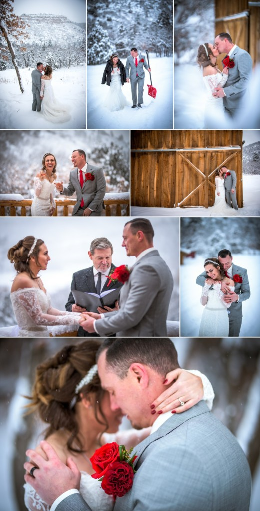 Cheyenne & Jon's Durango Colorado Winter Wedding