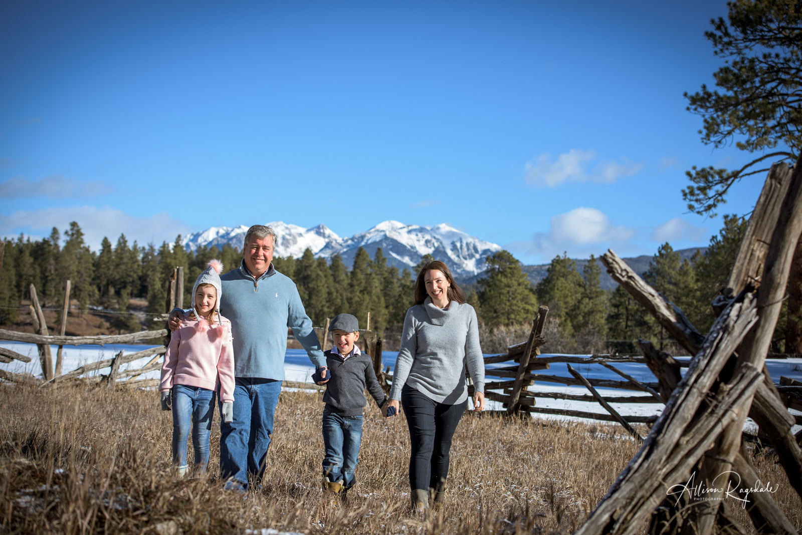 Valdez Family Pictures in Durango Colorado