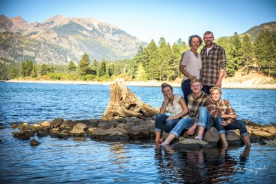 awesome outdoor family portraits