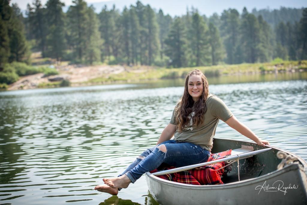 unique senior portraits Durango Colorado