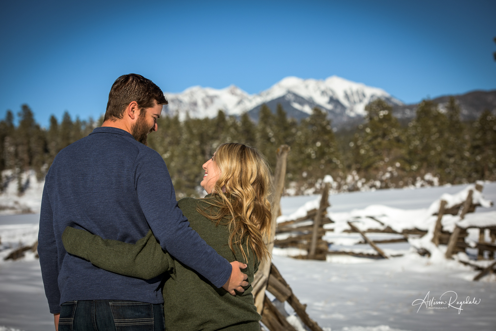 Lauren and Connor's Engagement Photoshoot | Durango, Colorado