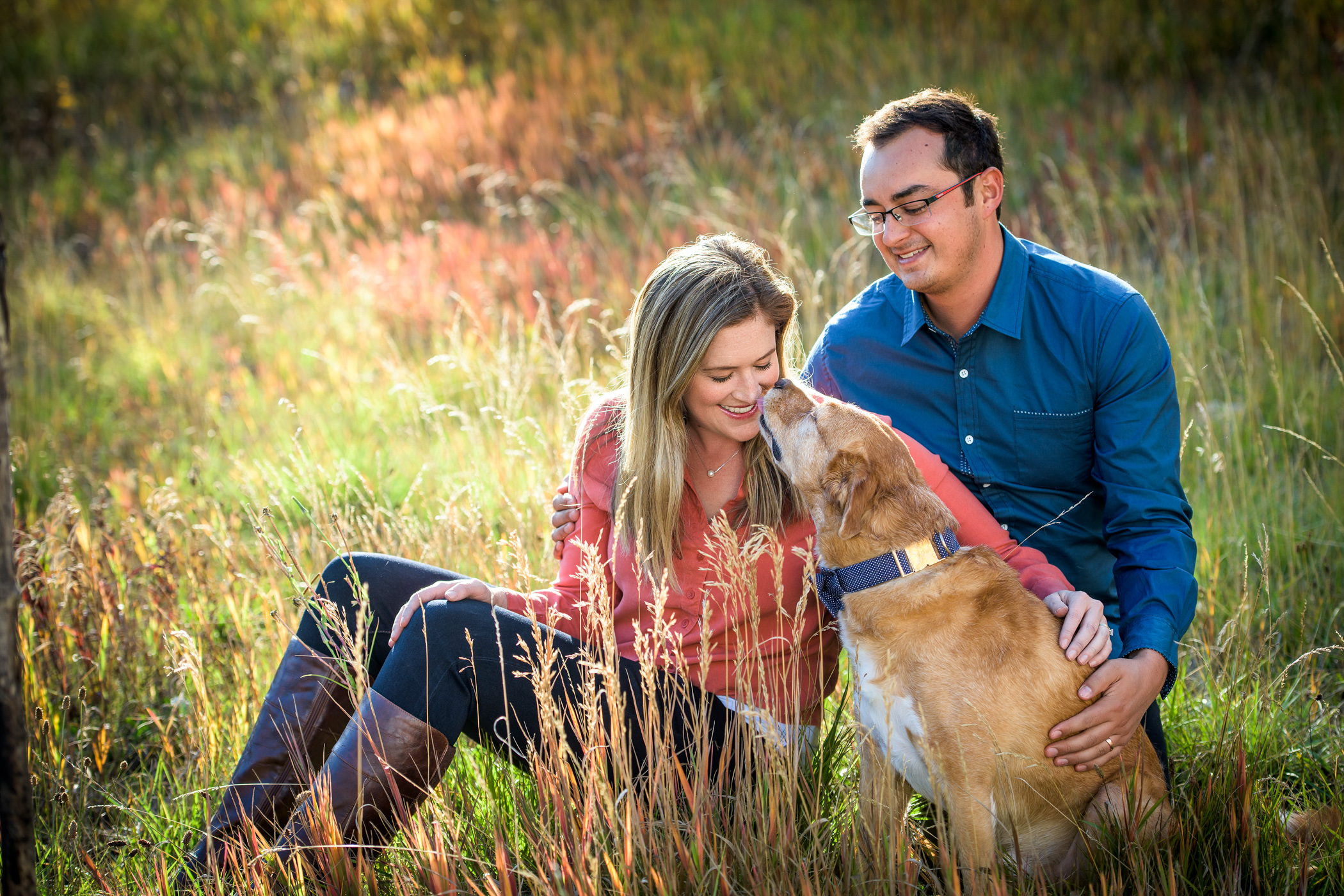 Michaela & Nick's Durango Colorado Family Pictures