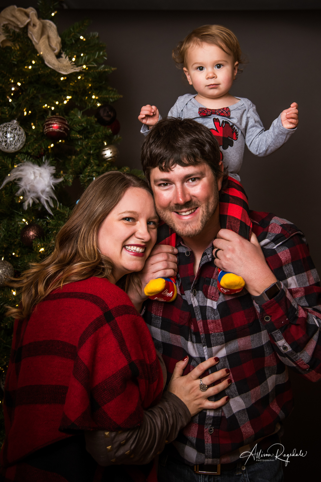 Dallison's Christmas Family Portraits | Durango Colorado