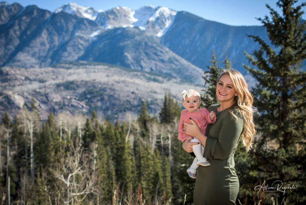 Diehl Family Portraits in Durango Colorado
