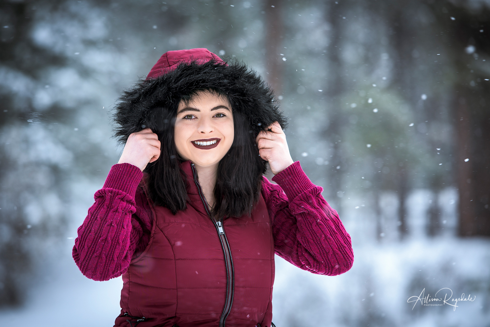 Mady Brand's Durango Winter Senior Portraits