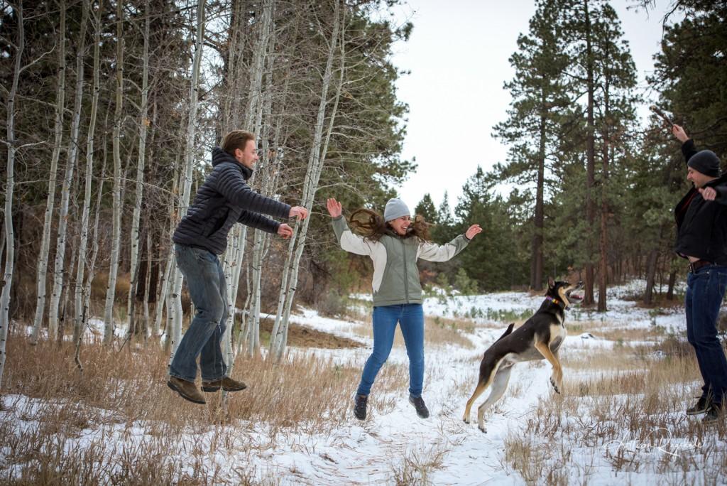 Durango Winter Family Pictures