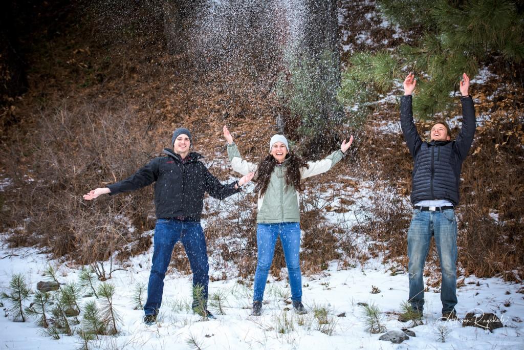 Snowy Family Portraits