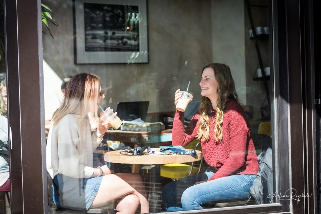 cute coffee shop shoot ideas