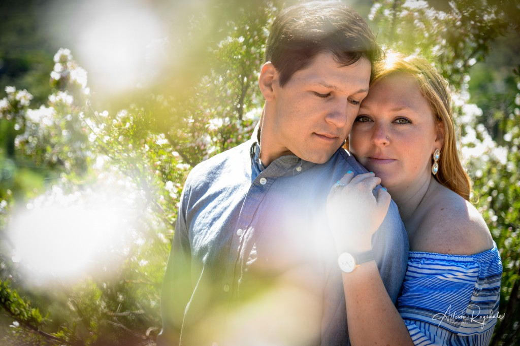 beautiful engagement session