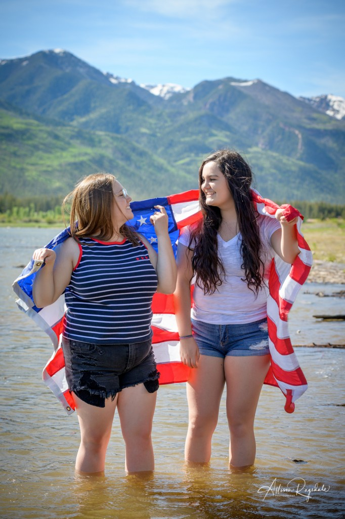 fourth of july senior photoshoot