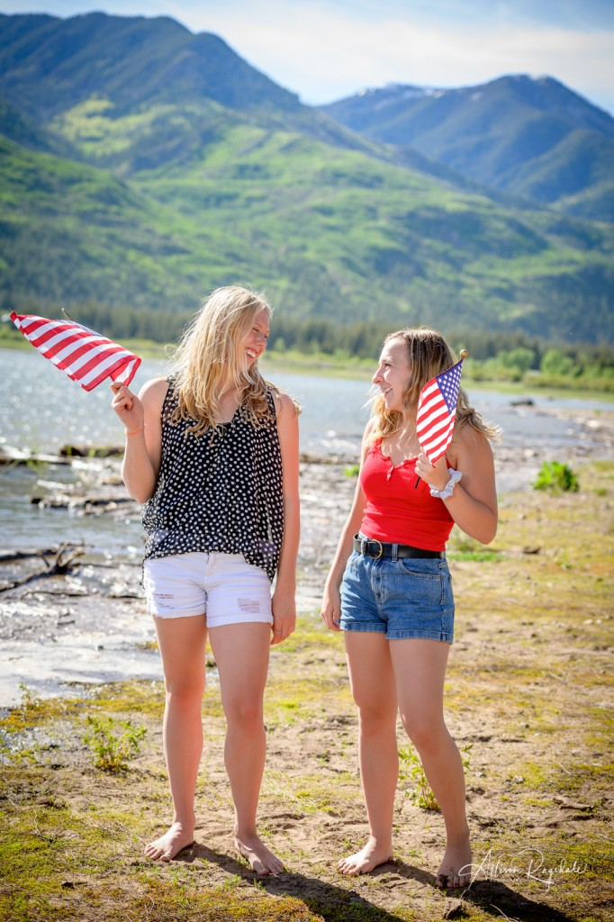 Fourth of july photoshoot Vallecito Lake