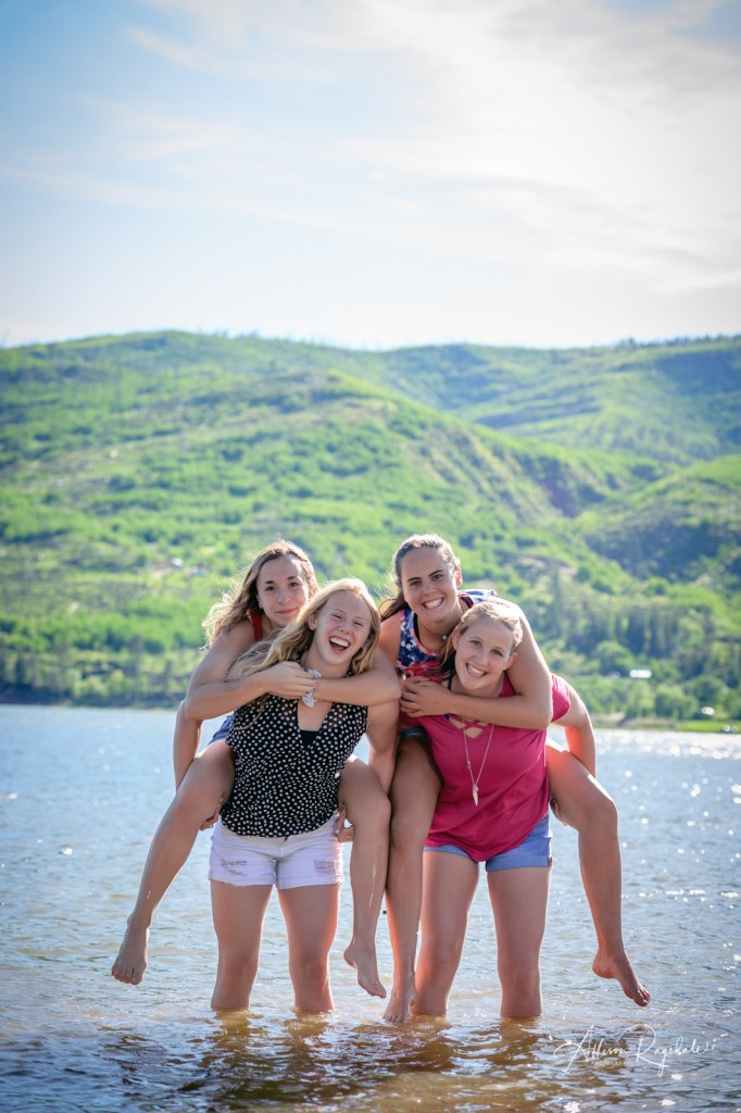 Vallecito lake senior pictures