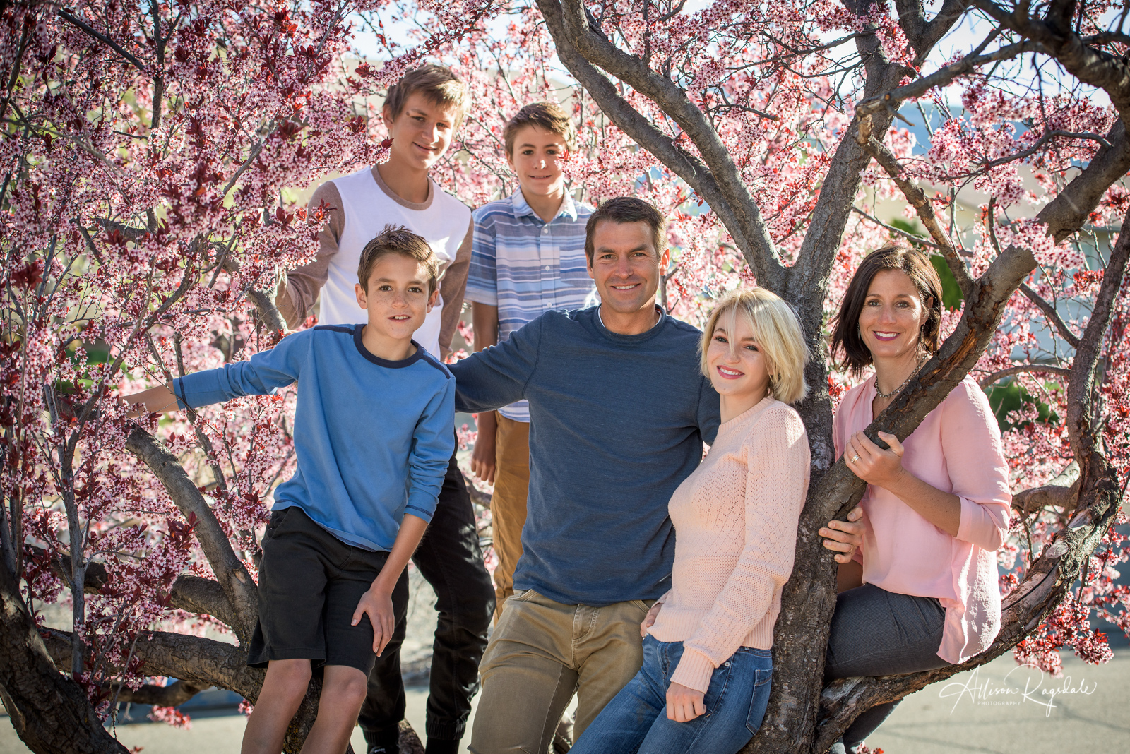 Hughes Family Portraits in Durango Colorado